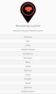 Xzero Food - Mobile App - náhled
