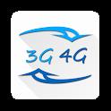 3G/4G Internet Speed Test icon