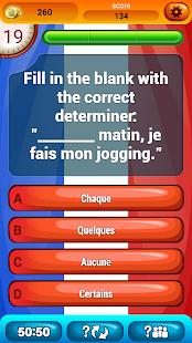 Francouzština Gramatika Kvíz - náhled