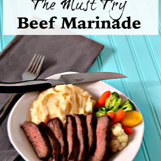 The Must Try Beef Marinade