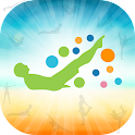 100s to Happiness- Pilates App icon