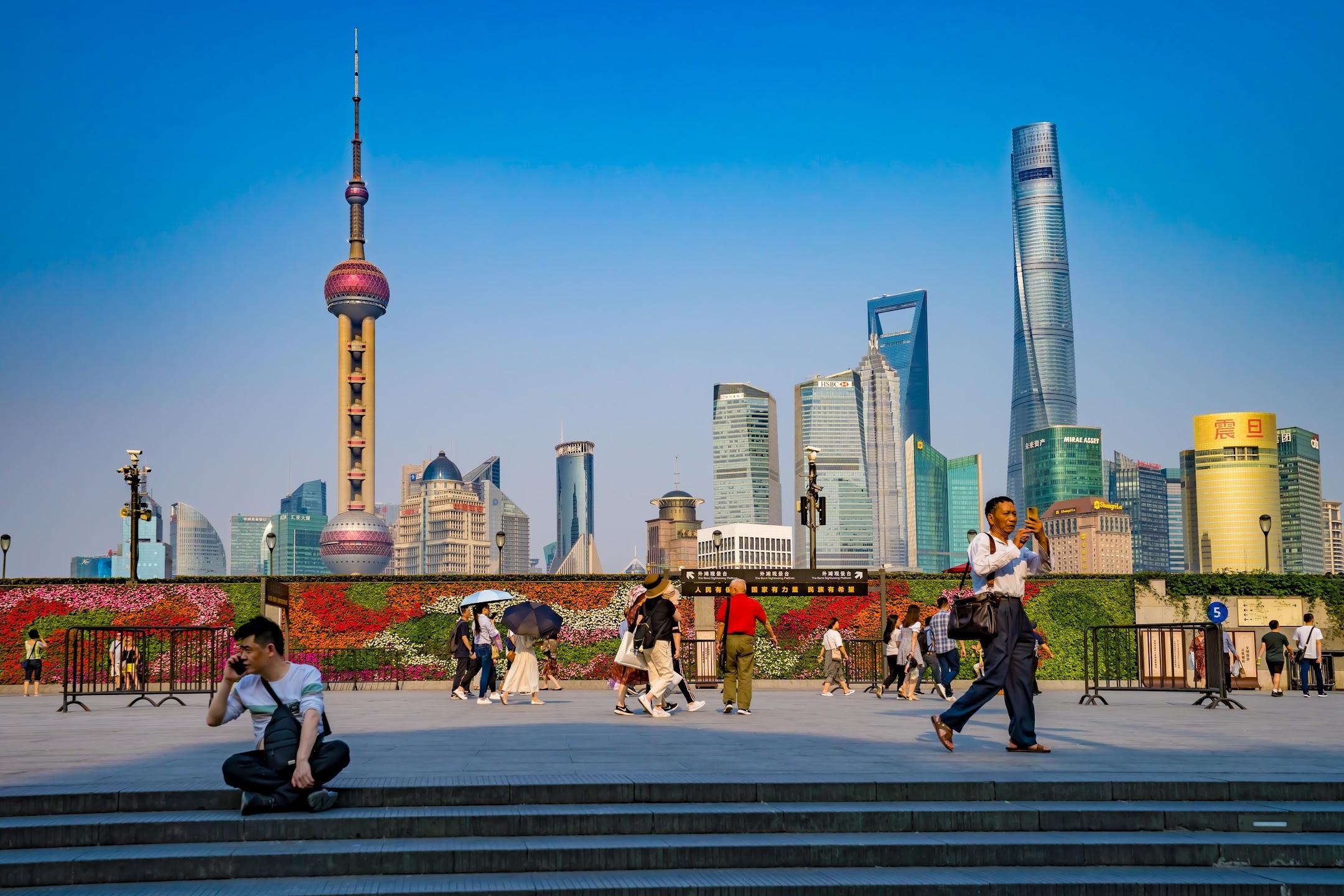 Shanghai Waitan (The Bund) Pudong2