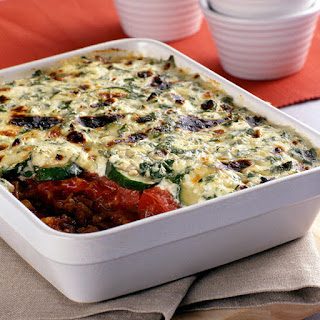 Beef and Vegetable Cheese Casserole.