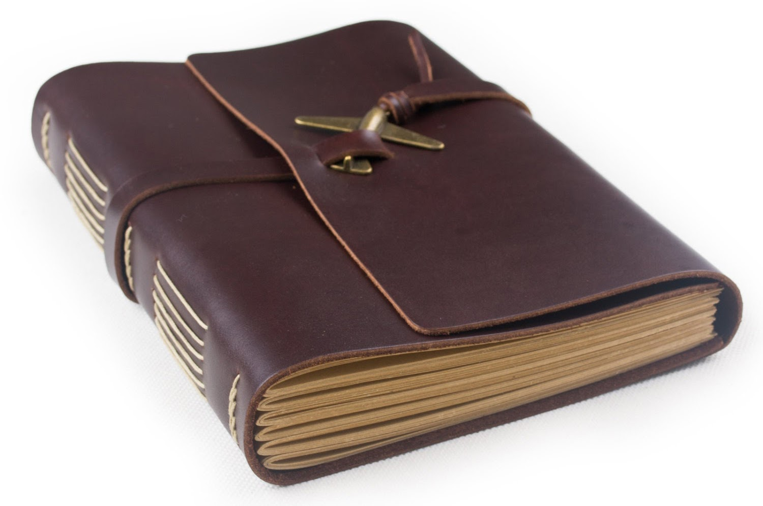 Etsy Travel Journal Leather Airplane
