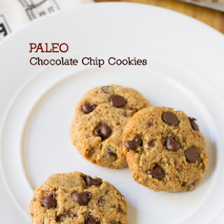 Paleo Chocolate Chips Cookies