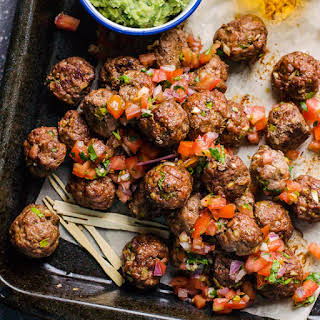 Mexican Turkey Meatballs.