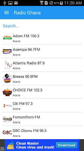 Ghana Radio Music