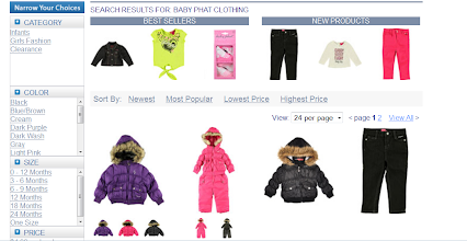 Photo: Oh, and Cookie's Kids doesn't just have uniforms, they have all sorts of things like Baby Phat clothing.