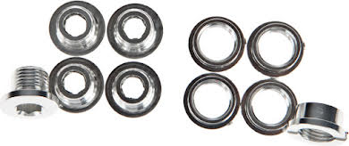 Problem Solvers Single Chainring Bolts, Silver, Set of 5 alternate image 1