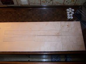 Photo: Die geraden Teile wurden auf der Hauseigenen CNC Fräse ausgefräst und bestehen aus 1 mm Modellbausperrholz.