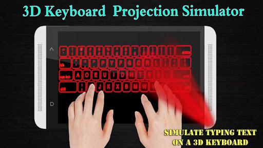 keyboard Projection simulator