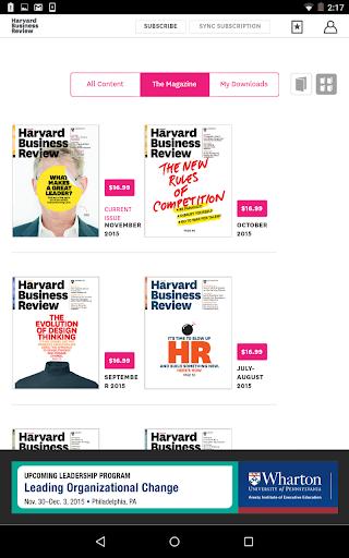 harvard business review pdf download