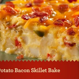 Egg Potato Bacon Skillet Bake
