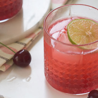 Sour Cherry Gin and Tonic