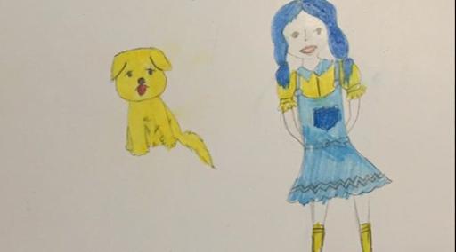 dessin Le Magicien d'Oz PopCorn n°17 Cin'épi n°4 atelier