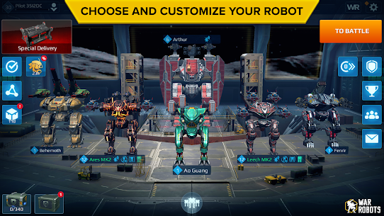 War Robots Multiplayer MOD (Unlimited Missiles) 3