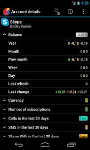 AnyBalance (balance on screen) v4.0.827 [Unlocked] APK 2