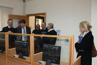Photo: Rencontre à la section hôtelière de l'Institut Notre-Dame de Jérusalem