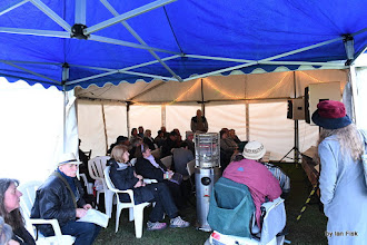 Photo: The Open Mic Tent