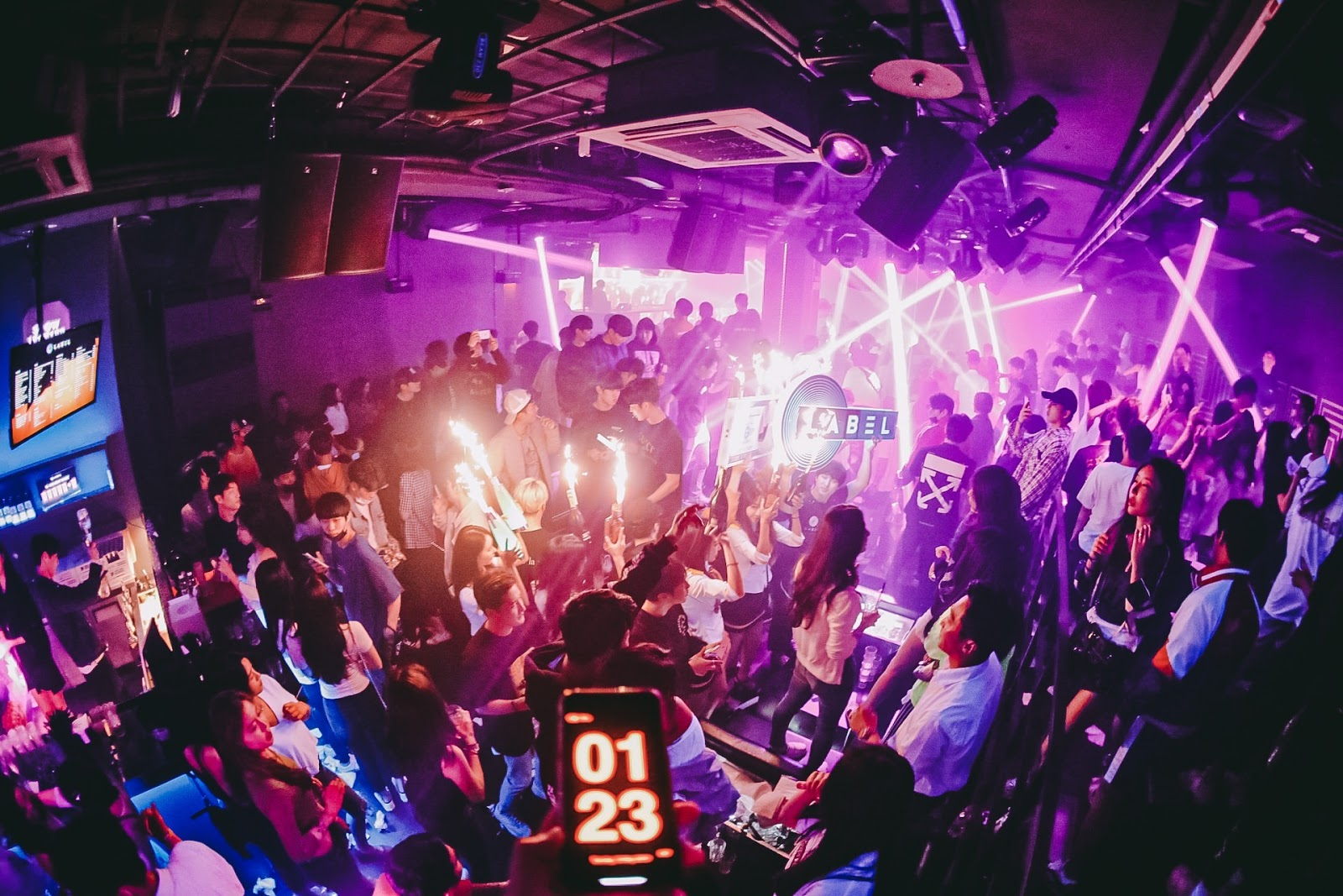 label gangnam club 1