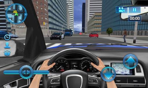 玩免費賽車遊戲APP|下載車の中で運転 - Driving in Car app不用錢|硬是要APP