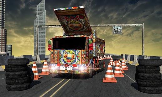 Master of 3D Truck Parking 2018 - náhled