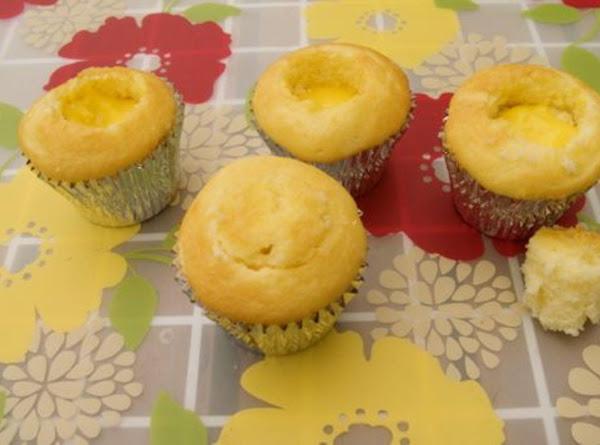 Lemon Filled Cupcakes Recipe