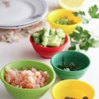 Norwegian Shrimp Salad.