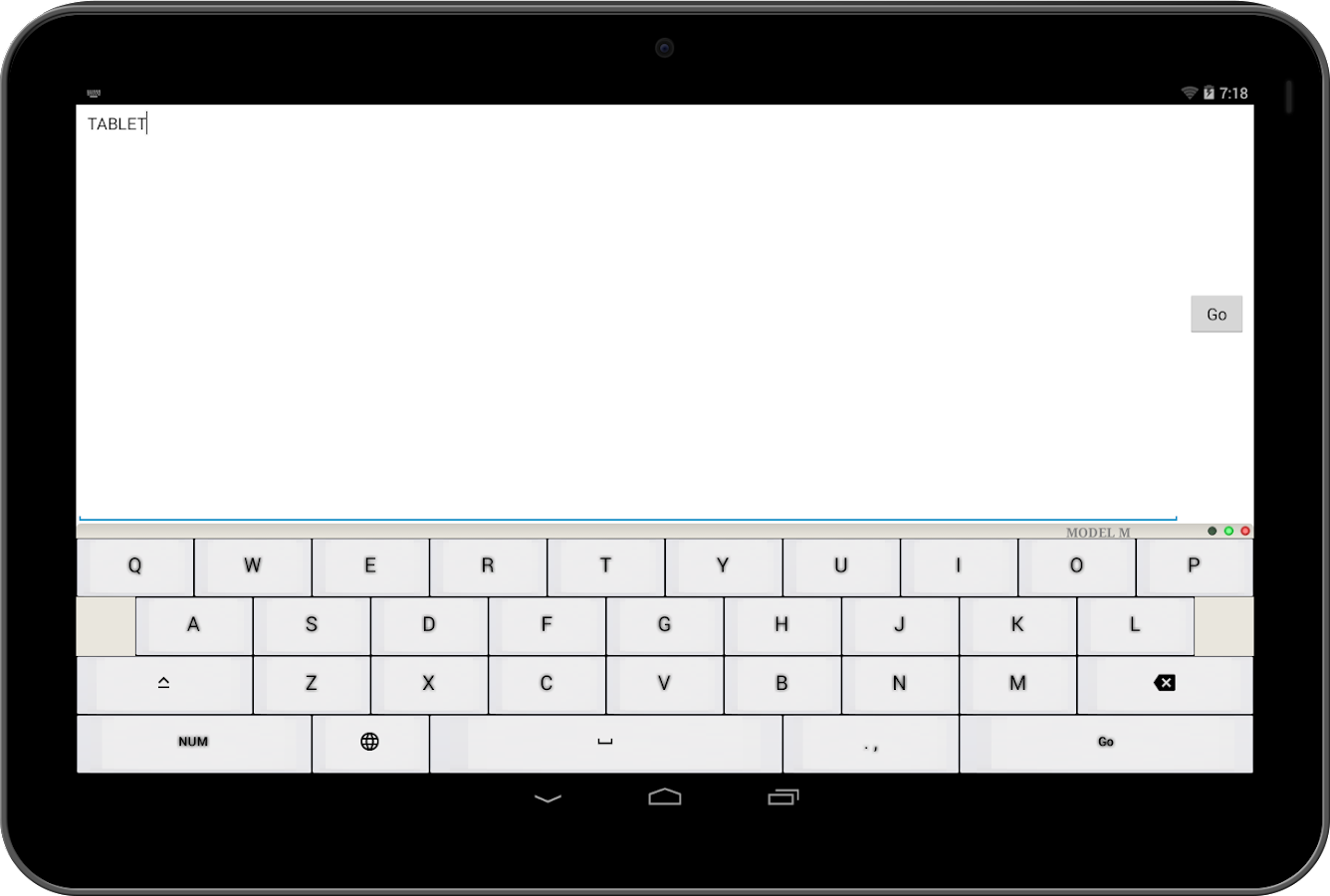 Mechanical Keyboard forAndroid- screenshot