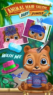 Baby Animal Hair Salon 2 - Cute Pet Care & Beauty Screenshot