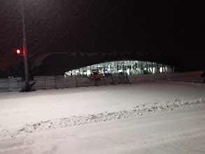 Photo: Last look back at the terminal building.