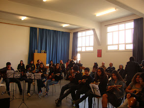 Photo: In the Music class of the School Agias Fylaxeos