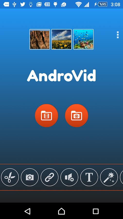 AndroVid Pro Video Editor- screenshot
