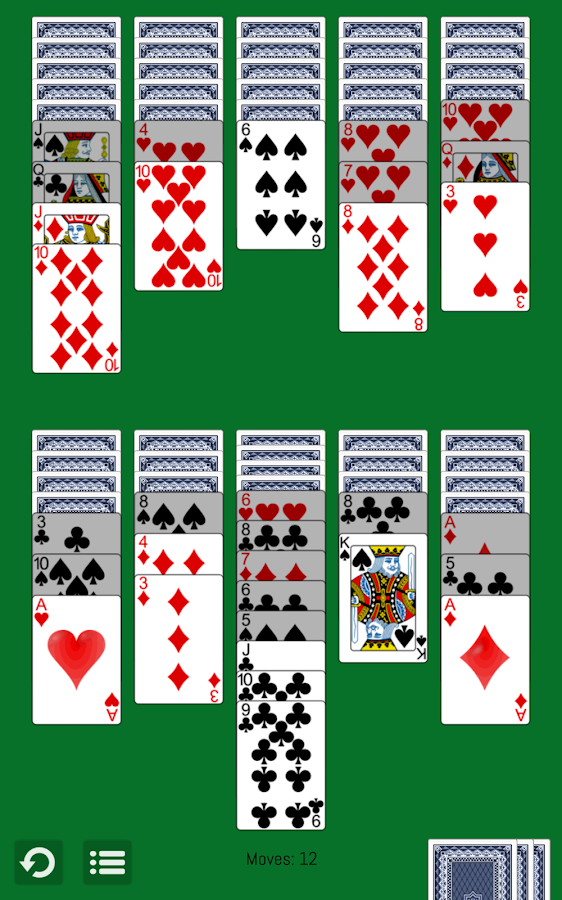 how to set up cards to play solitaire