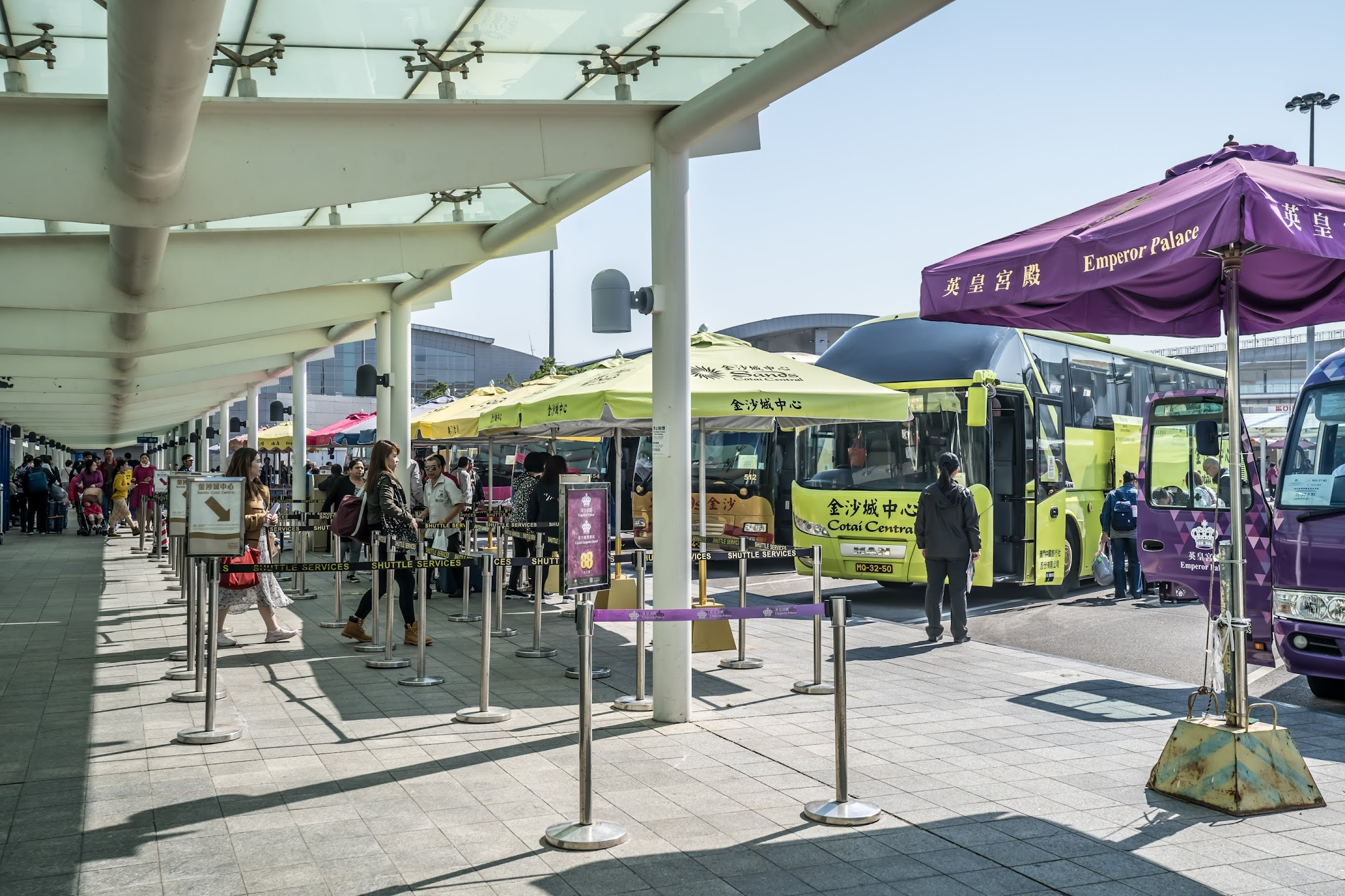Taipa Ferry Terminal shuttle bus