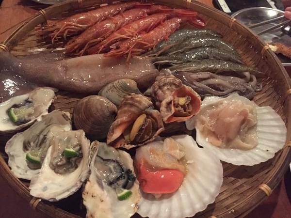 一氣水產浜燒專門店 - 宵夜聚餐 超有fu日式燒烤食堂