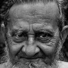innocent  by Iqbal Kabir - Black & White Portraits & People