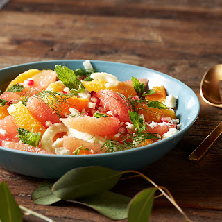 Citrus Fennel Salad with Feta and Pomegranate Recipe