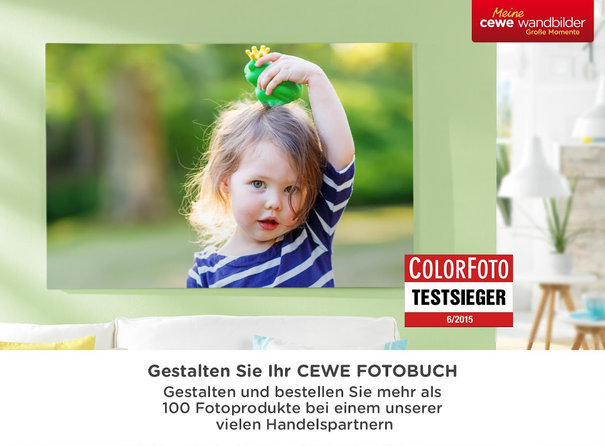 cewe fotowelt – Screenshot