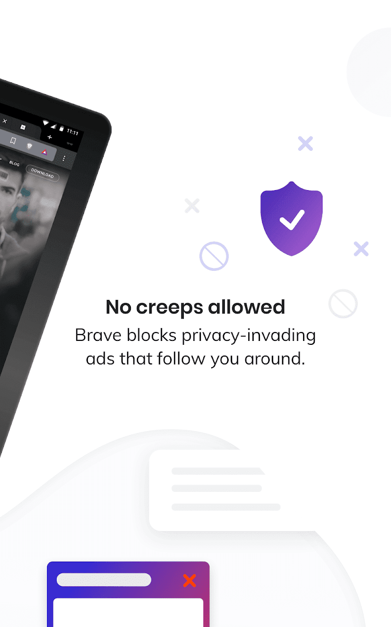 Brave Privacy Browser: Fast, free and safe browser Screenshot 8