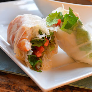 Fresh Shrimp Spring Rolls