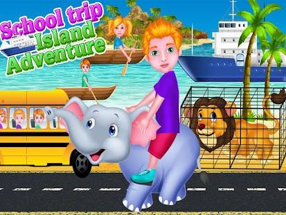 školní výlet ostrov dobrodružs - náhled