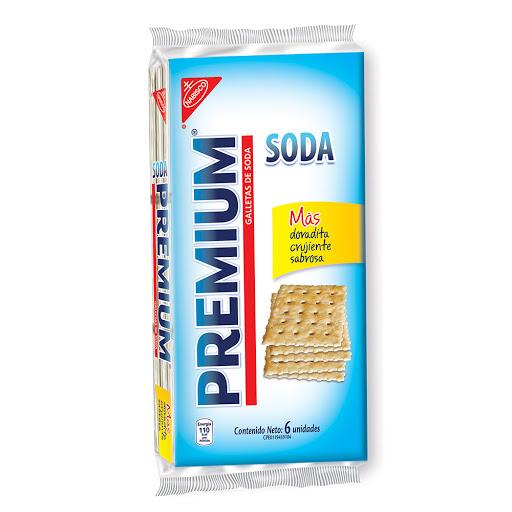 Galleta Soda Premium 6 Und