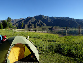 Photo: Camping am Embalse Potrerillos