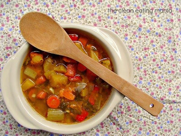 Healing Vegetable Soup Recipe