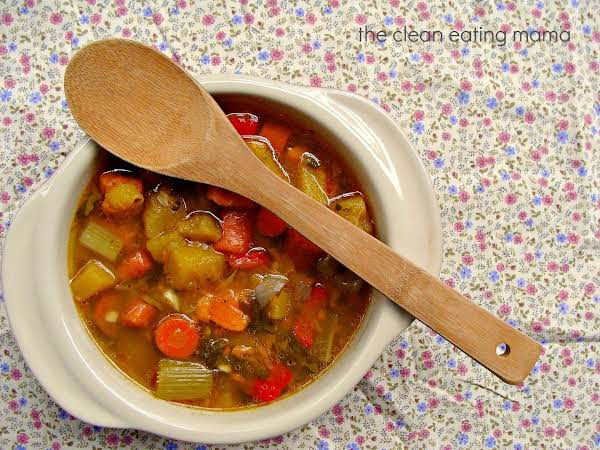 Healing Vegetable Soup Recipe