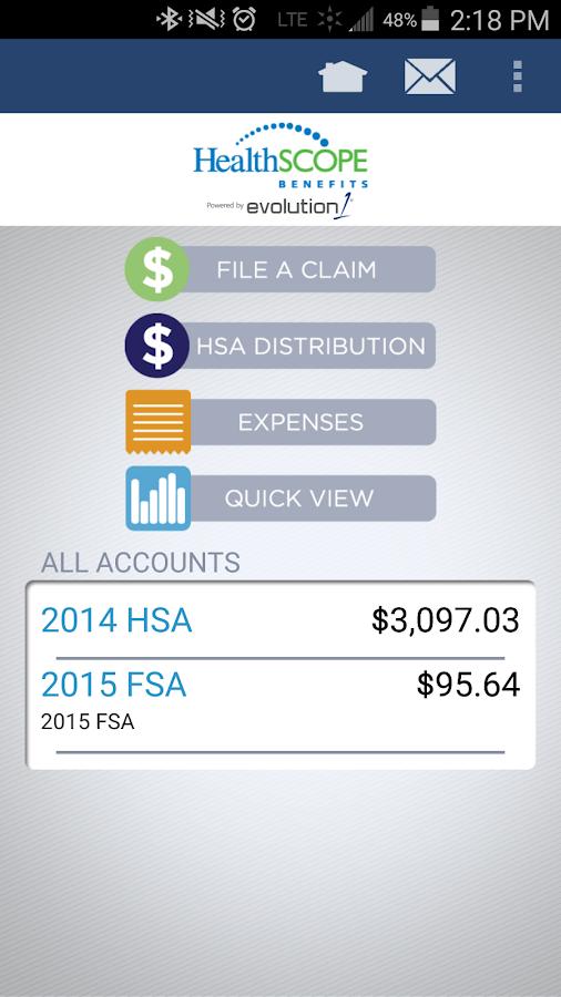 HealthSCOPE Benefits Mobile- screenshot