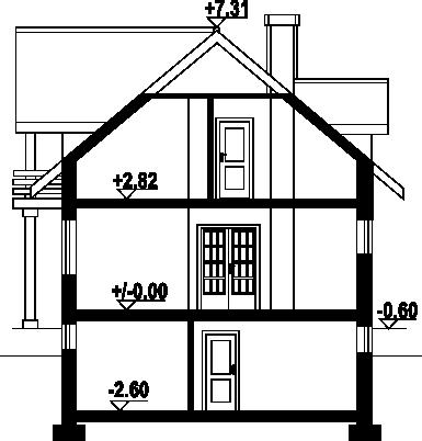 Oleśnica 9 - Przekrój