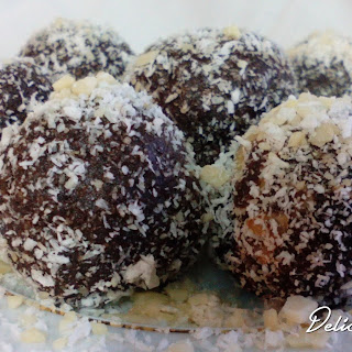 Truffle Almonds And Coconut