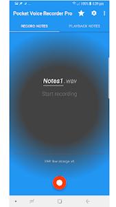 Pocket Voice Recorder Pro 3.2.4 (Paid)